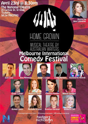 The National Theatre Melbourne Presents HOME GROWN at Melbourne International Comedy Festival