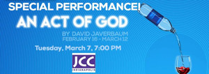 Phoenix Theatre Partners with JCC for One-Night-Only AN ACT OF GOD