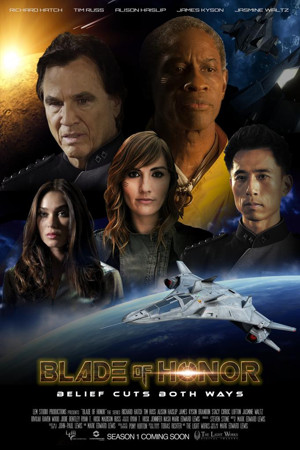 Hatch! Russ! Kyson! Unite for Sci-fi Series BLADE OF HONOR!