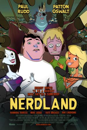 Paul Rudd, Patton Oswalt Lead Animated Comedy NERDLAND, In Theaters 12/6