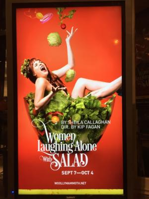 BWW Review: Woolly Mammoth's WOMEN LAUGHING ALONE WITH SALAD