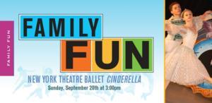 New York Theatre Ballet to Bring CINDERELLA to the Schimmel Center, 9/20