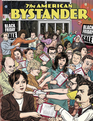 New Humor Magazine THE AMERICAN BYSTANDER Returns for Issue #2 via Kickstarter