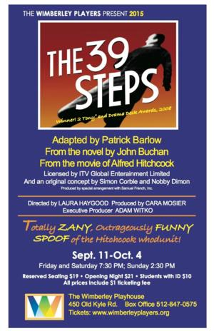BWW Review: THE 39 STEPS is a Zany Parody of Hitchcock