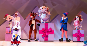 Bww Review Rudolph The Red Nosed Reindeer The Musical At Msg Shines Bright For Theatergoers
