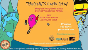 TRANSPLANTS COMEDY SHOW To Joke About Hometowns at QED