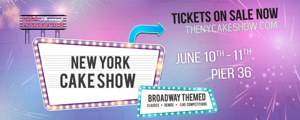 New York Cake Show to Pay Homage to The Tony Awards This Weekend