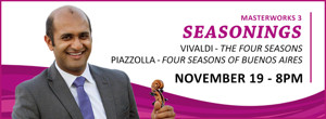 Canton Symphony Orchestra Presents MASTERWORK 3 SEASONINGS, 11/19