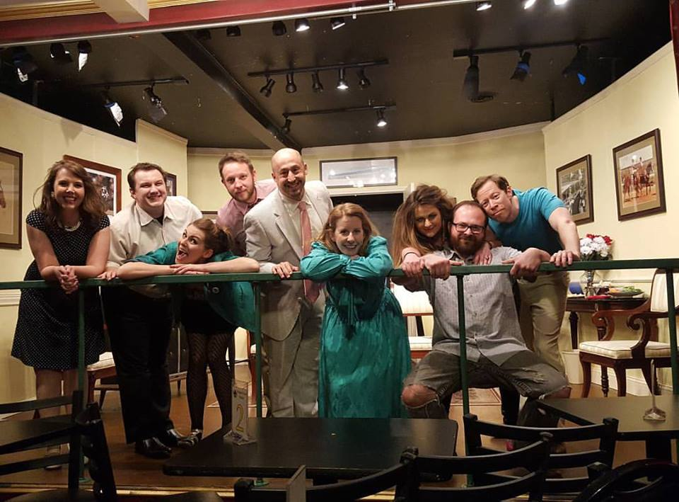 BWW Review: THE LAST PARTY at Finnigan Productions