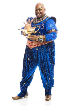 Major Attaway to Star as Genie in ALADDIN