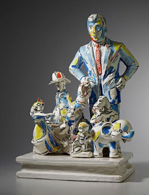 Canton Museum of Art Acquires New Ceramic Sculpture by Viola Frey