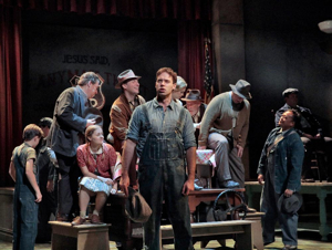 OTSL reads Steinbeck's righteous sentence with a commanding voice.