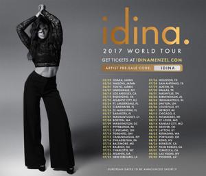 Idina Menzel to Embark on 2017 World Tour!