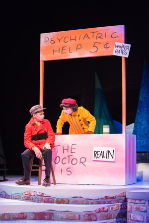 bww review mime and music enchant audiences at first stages a charlie brown christmas - A Charlie Brown Christmas Musical