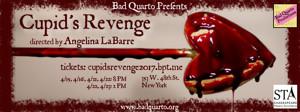 Bad Quarto Productions Announces Company of CUPID'S REVENGE