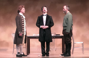BWW Review: Stage Guild's THE GOSPEL ACCORDING TO THOMAS JEFFERSON, CHARLES DICKENS, AND COUNT LEO TOLSTOY: DISCORD