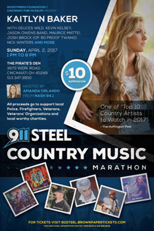 Country Artists to Raise Money for Traveling 9/11 Memorial, 4/2