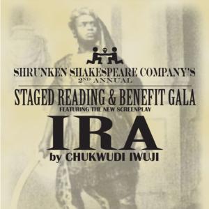 Olivier Winner Chukwudi Iwuji Set for Shrunken Shakespeare Benefit, 6/8