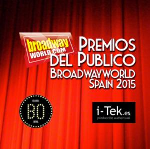 Finalistas de los Premios del Público BroadwayWorld Spain 2015