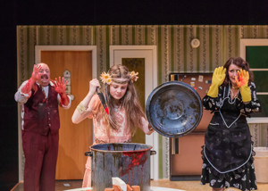 BWW Review: Grief Gets Bloody in Horror Comedy FEATHERS AND TEETH, at Artists Rep