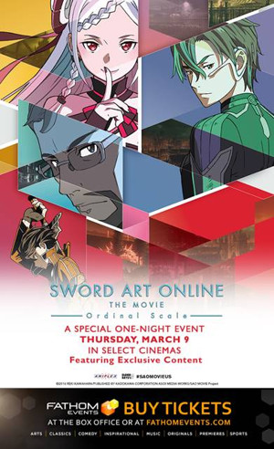 TV Anime Series SWORD ART ONLINE Hits Cinemas With a Special One-Night Event
