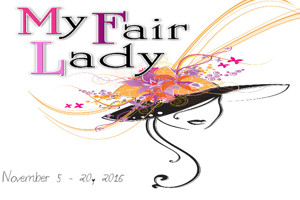 PCRT to Present MY FAIR LADY This Fall