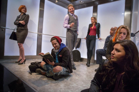 BWW Interview: Michael Leoni (Writer/Director) and Erica Katzin (The Temp) Share Their Experience Presenting ELEVATOR, Extended to July 30 due to Sold Out Houses!