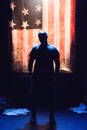 BWW Interview: Douglas Taurel of THE AMERICAN SOLDIER at Miles Square Theatre