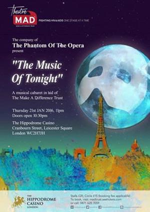 Shona White To Join PHANTOM Cast for TheatreMAD Cabaret THE MUSIC OF TONIGHT At Hippodrome Casino, Jan 21