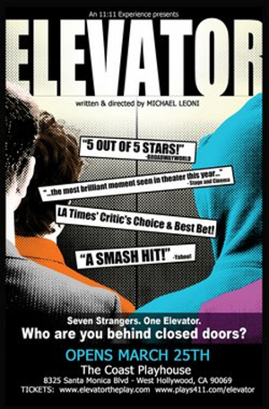 BWW Review: An ELEVATOR Ride Provides an Emotionally Uplifting Experience for Seven Strangers