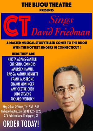 Broadway, Film & TV Composer David Friedman Comes to the Bijou