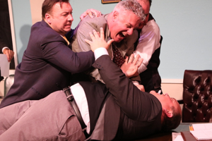 BWW Review: In LAUGHTER ON THE 23rd FLOOR, Neil Simon Shares the Golden Age of Television Writer Room Craziness