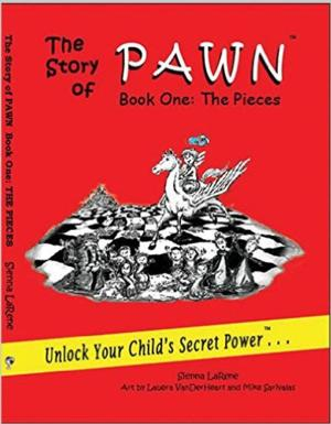 Ringling College Graduate Lauera VanDerHeart With Her Illustrations for 'The Story of Pawn' Book Series