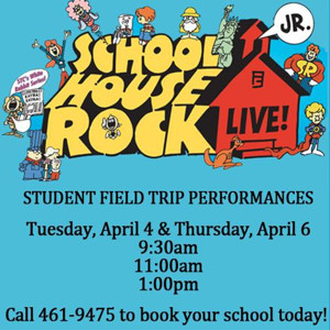 SCHOOLHOUSE ROCK LIVE! JR. Coming to Rivertown Theaters This Spring