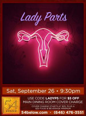 Ryann Redmond, Laura Dreyfuss & More Set for LADY PARTS at 54 Below