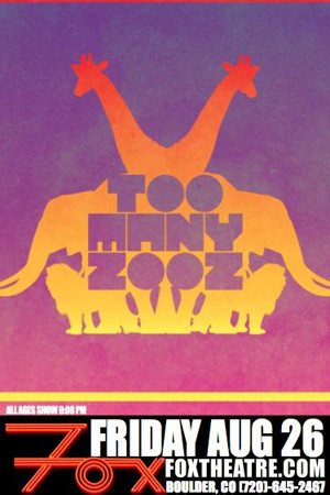 Too Many Zooz Heads to the Fox Theatre This August