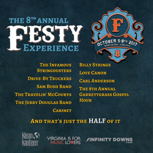 The Infamous Stringdusters, The Travelin' McCourys and More Among The Festy Experience's 2017 Lineup