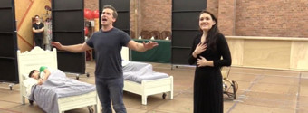 BWW TV: They're Ready to Fly Away on Tour- Go Inside Rehearsal with the New Cast of FINDING NEVERLAND!
