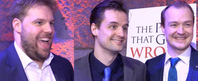 BWW TV: When Wrong Went Right- Inside Opening Night of THE PLAY THAT GOES WRONG!