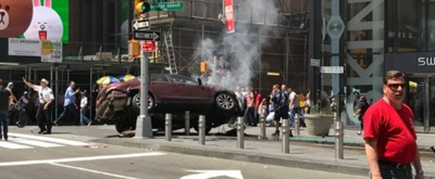 Speeding Car Plows Into Pedestrians in Times Square; One Dead, Several Injured
