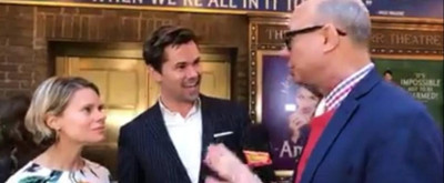 Red Carpet Roundup: Richard Ridge Chats Up the Stars at Opening Night of AMELIE