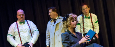 Photo Coverage: First Look at SRO's THE 39 STEPS