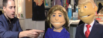 CHEWING THE SCENERY- Who's the Presidential Puppet? Randy Rainbow Interviews Trump & Clinton!