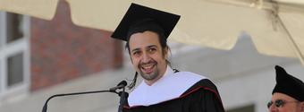 VIDEO: Lin-Manuel Miranda Delivers Commencement Address to Wesleyan University Students