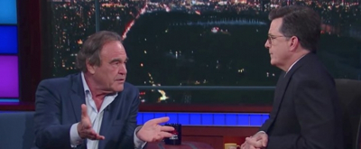 VIDEO: Stephen Colbert Grills Oliver Stone in Uncomfortable LATE SHOW Interview