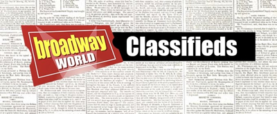 Browse and Add Your Listings to BroadwayWorld's Free Classifieds