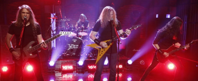 VIDEO: Megadeth Perform Grammy-Nominated Song 'Dystopia' on LATE NIGHT
