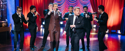 VIDEO: James Corden Challenges Neil Patrick Harris to Epic Broadway Musical Riff-Off!