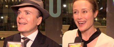 BWW TV: Richard Ridge Chats Up the Stars of Lincoln Center's OSLO on Opening Night