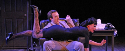 Photo Flash: First Look at THE 39 STEPS at Cortland Repertory Theatre
